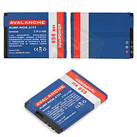 Батарея (аккумулятор) Avalanche BL-4B для телефонов Nokia (650 mAh), оригинал