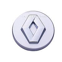 Колпачки заглушки для литых дисков Renault серый