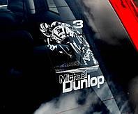 Michael Dunlop стикер