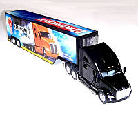 Металлический трейлер Kinsmart KENWORTH T700 WITH CONTAINER