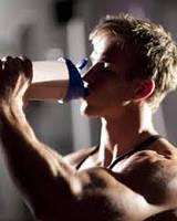 Спортивное питание при тренировках.