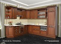 """Кухня модульная """"Роксана"""" 2 метра ( прованс темный ,патина)"""