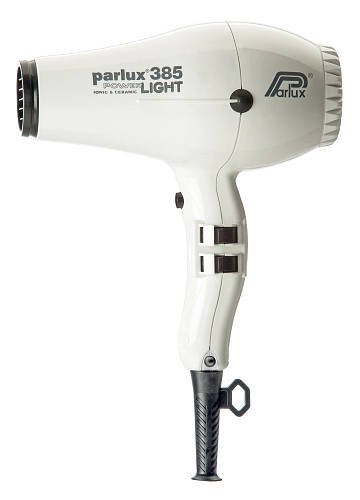 Фен для волос Parlux 385 Powerlight белый