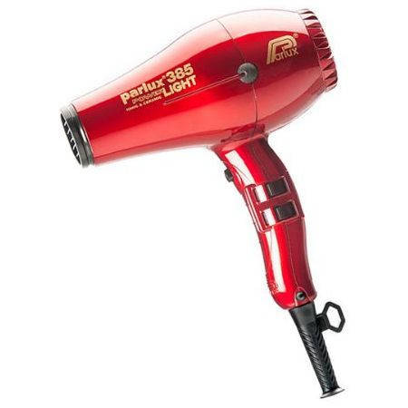 Фен для волос Parlux 385 Powerlight красный