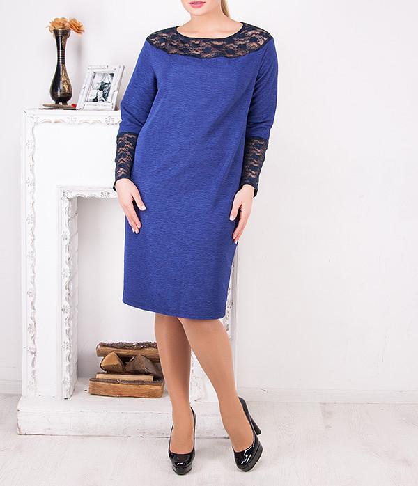 """Женское платье большого размера """"Алиша"""" от 50 до 62"""