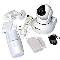 Комплект Wi-Fi сигнализации с роботизированной камерой