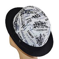 Шляпа котелок овальный 86 черный