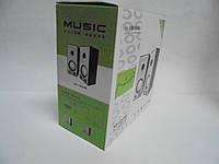 Колонки компьютерные M-008, колонки деревяные,  аудиотехника, портативная акустика, колонки