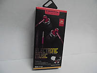 Наушники Reddax Electronic Music RDX-712, наушники+чехол, гарнитура, аудиотехника, вакуумные