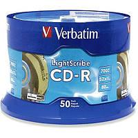 CD-R Verbatim 700 MB/80 min (50 шт./упак.)