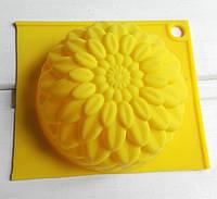 Форма для мыла Хризантема  7,9 см, 1 шт