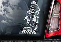 Shane Byrne стикер