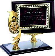 Деревянный диплом на подставке