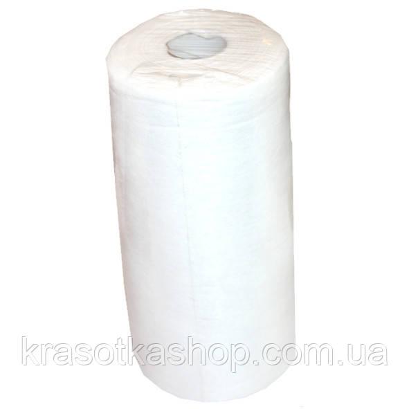 """Серветки 20*20 см, """"RIO"""", білі, в рулоні гладкі з перфорацією, 100шт/уп."""