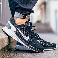 Кроссовки мужские Nike Lunarglide 7 Black, фото 1