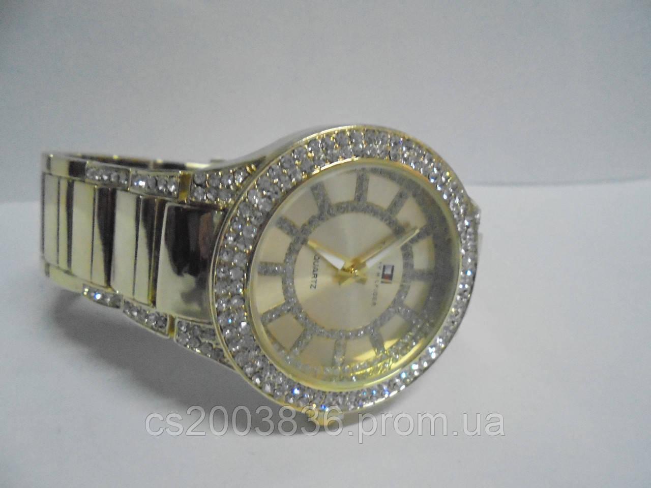 Часы наручные женские Tommy Hilfiger(золото),часы наручные Hilfiger, женские  наручные часы f567d7e1333