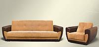 Гарнитур Доминик (диван+кресло+пуф)