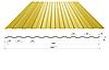 Профнастил в полимерном покрытии С-6, 0,3мм