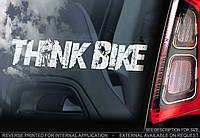 Think Bike стикер