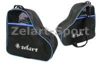 Сумка-рюкзак для хранения и транспортировки роликовых коньков (PL,р-р 39*38*22см, цвета в ассортименте) синий
