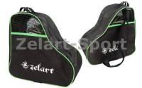 Сумка-рюкзак для хранения и транспортировки роликовых коньков (PL,р-р 39*38*22см, цвета в ассортименте) зеленый