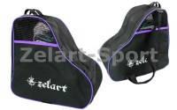 Сумка-рюкзак для хранения и транспортировки роликовых коньков (PL,р-р 39*38*22см, цвета в ассортименте) фиолетовый