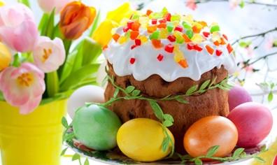С наступающим праздником Пасхи!