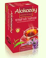 """Чай """"Alokozay"""" черный с чебрецом/темьяном 25 пак-конвертов"""