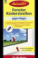 Aeroxon Fenster Köderstreifen gegen Fliegen - Ловушка в виде ленты для мух, 12 шт