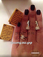 Серебряный гарнитур с золотом и фианитами №87о