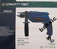 Дрель ударная электрическая Craft Tec( PXID242)