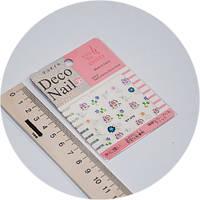 Наклейки на ногти Deco Nail qy-078