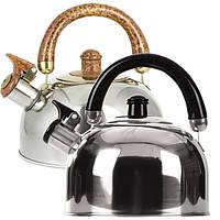 Чайник из нержавеющей стали 2,5 л со свистком Maestro MR-1300