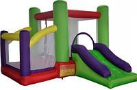 Детский надувной батут игровой центр аттракцион Kidigo Soft Space