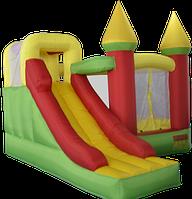 Детский надувной батут игровой центр аттракцион Kidigo Magic Castle