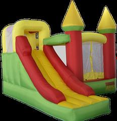 Детский надувной батут игровой центр аттракцион Magic Castle