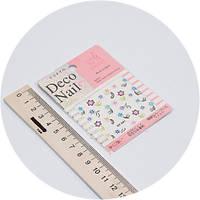 Наклейки на ногти Deco Nail qy-091
