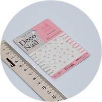 Наклейки на ногти Deco Nail qt-20