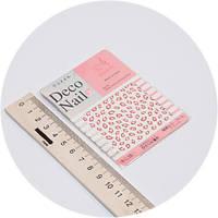 Наклейки на ногти Deco Nail d017