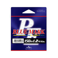 Шнур Yamatoyo PE Blue Mark Fluo Yellow # 0.6  150м.