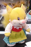 Мягкая музыкальная игрушка для детей V19800 Белочка в одежде