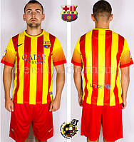 Футбольная форма ФК Барселона 2013-2014 выездная
