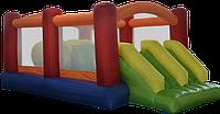Детский надувной батут игровой центр аттракцион Kidigo Fun World