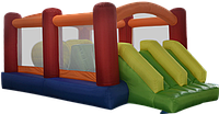 Детский надувной батут игровой центр аттракцион Fun World