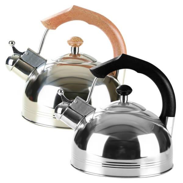 Чайник из нержавеющей стали 3,5 л со свистком Maestro MR-1308