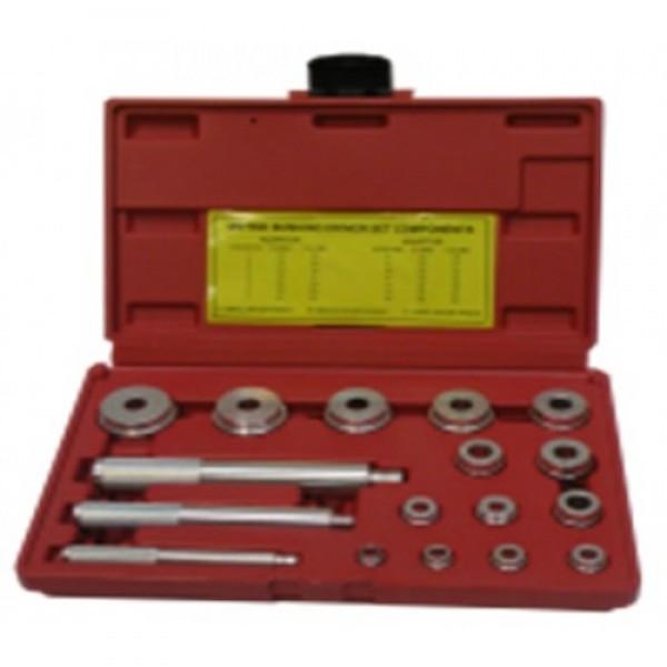 Комплект оправок для установки подшипников и сальников (17 ед) HESHITOOLS HS-E2011
