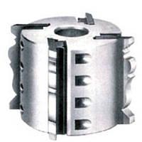 Фрезерна головка (типу планкет) з багатопрофільними ножами НSS
