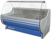 Холодильная витрина Gold РОСС. Холодильное оборудование для магазинов