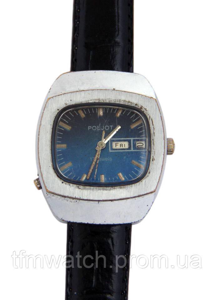 Полет два календаря механические часы СССР