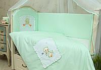 Детское постельное белье в кроватку Котик